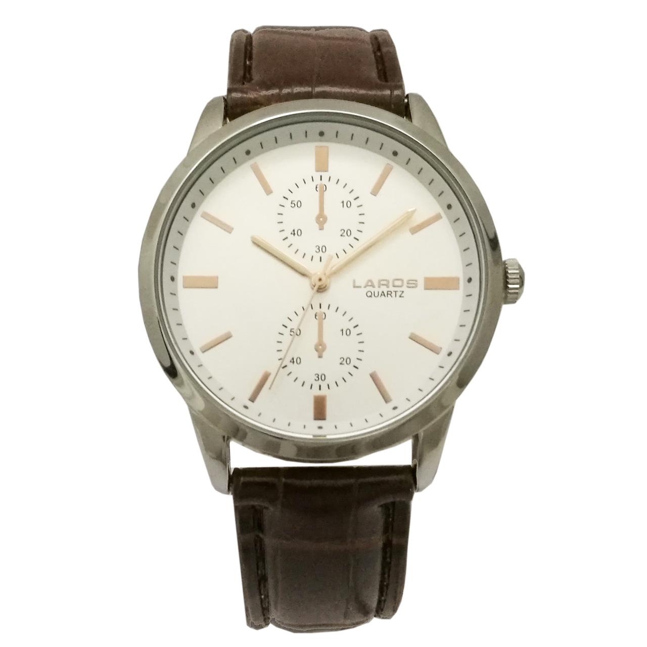 ساعت عقربه ای مردانه لاروس مدل 1117-80133-s