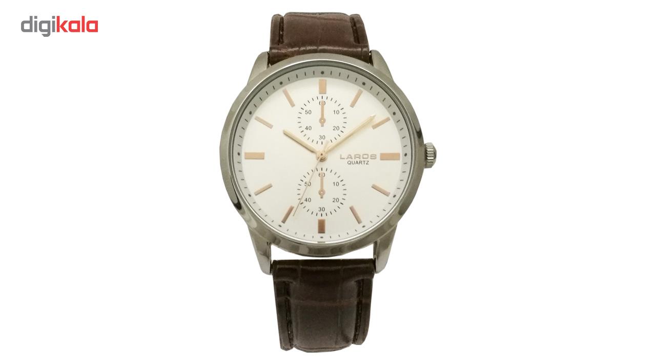 خرید ساعت عقربه ای مردانه لاروس مدل 1117-80133-s