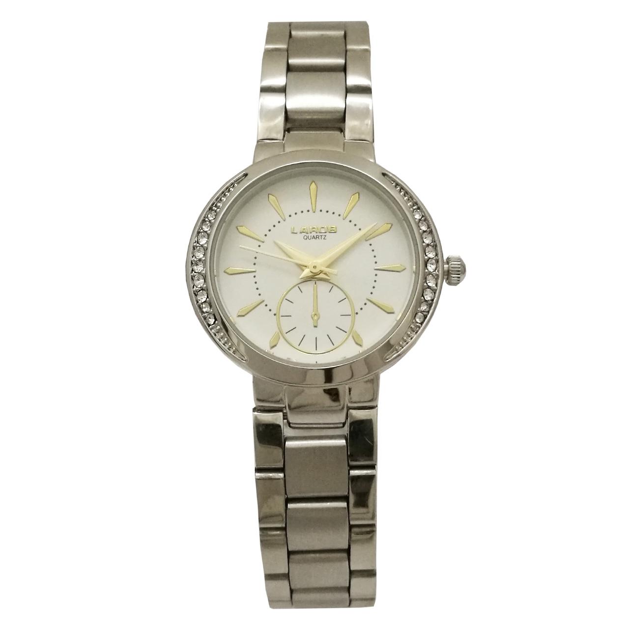 ساعت مچی عقربه ای زنانه لاروس مدل 1117-80156