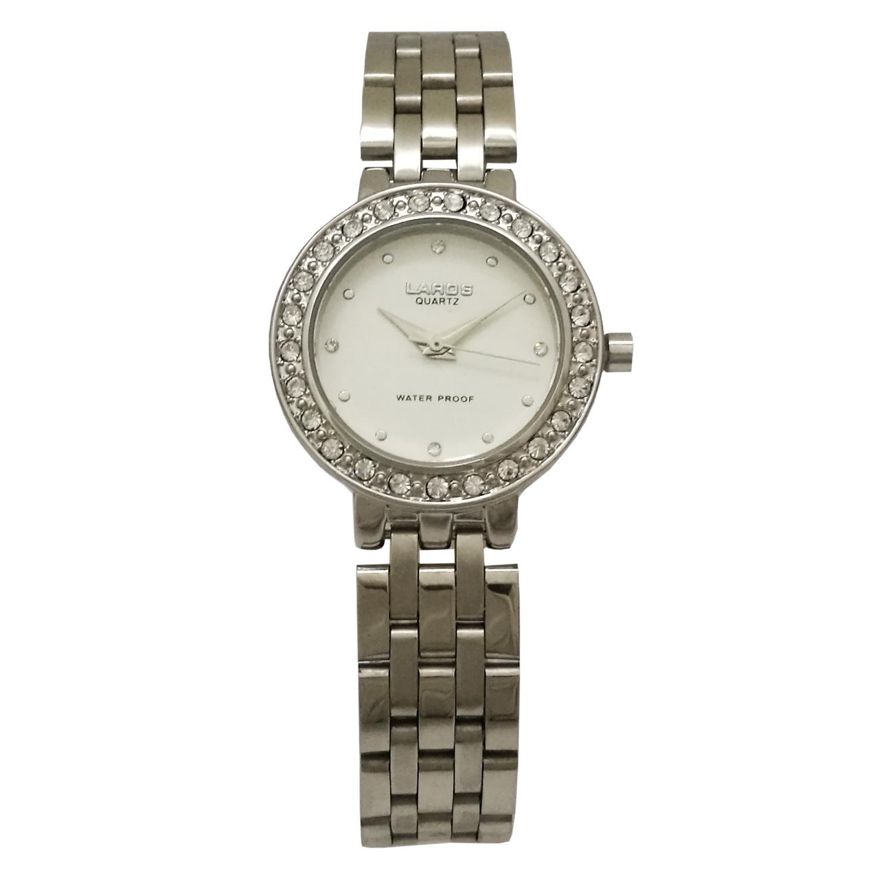 خرید ساعت مچی عقربه ای زنانه لاروس مدل 1117-80122