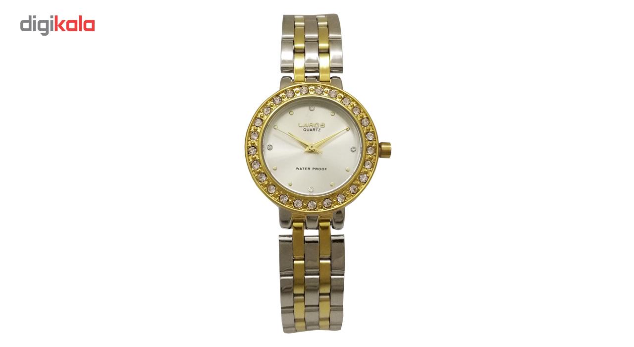 ساعت مچی عقربه ای زنانه لاروس مدل 1117-80122