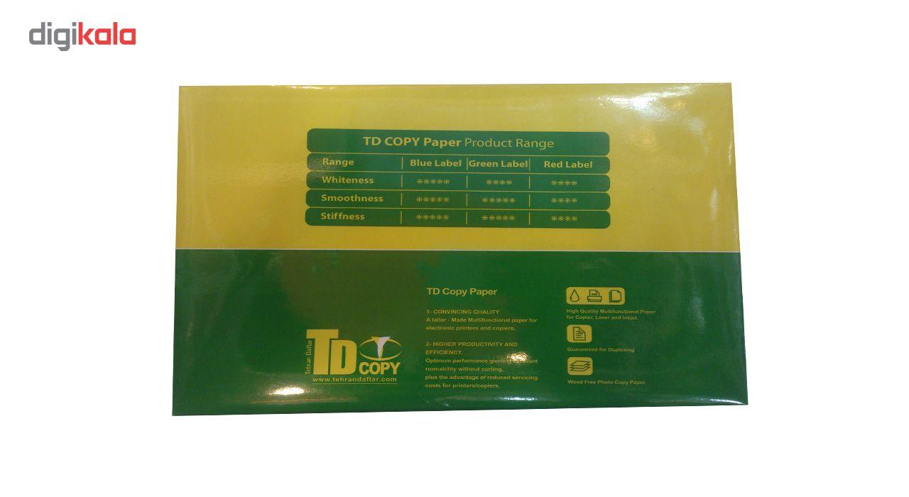 کاغذ 80 گرمی تی دی کپی سایز A4 بسته 500 عددی main 1 2