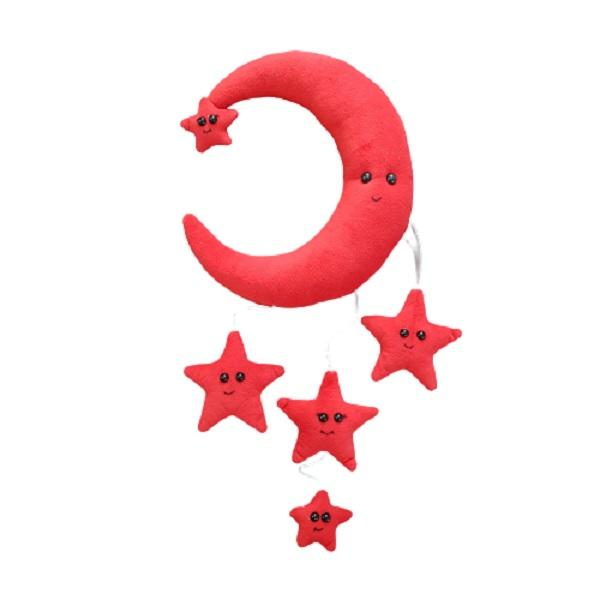 آویز تخت کودک مدل مدل ماه و ستاره
