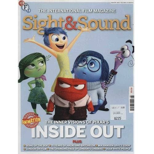 مجله Sight & Sound - آگوست 2015