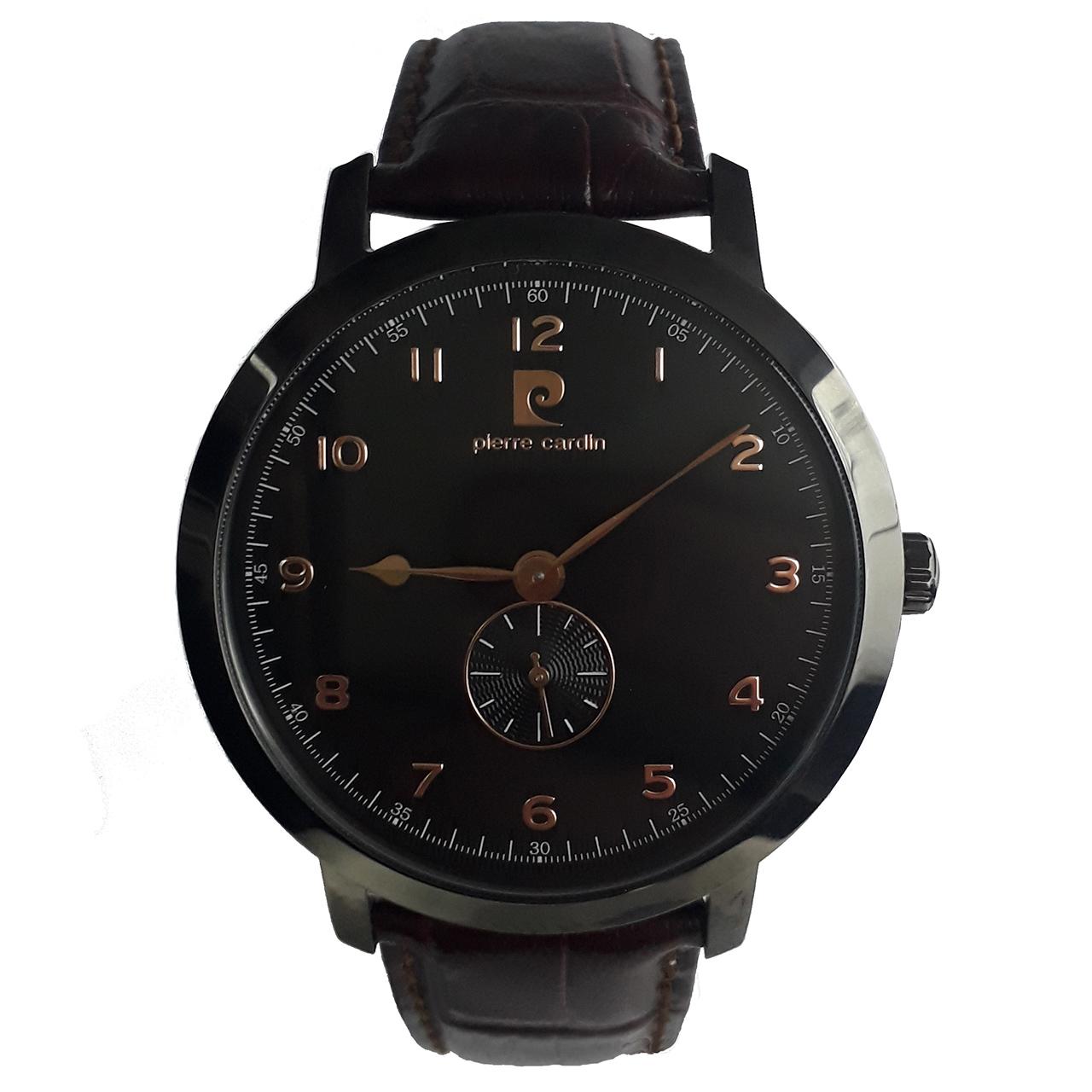 ساعت مچی عقربه ای مردانه پیر کاردین مدل PC106741F05 1
