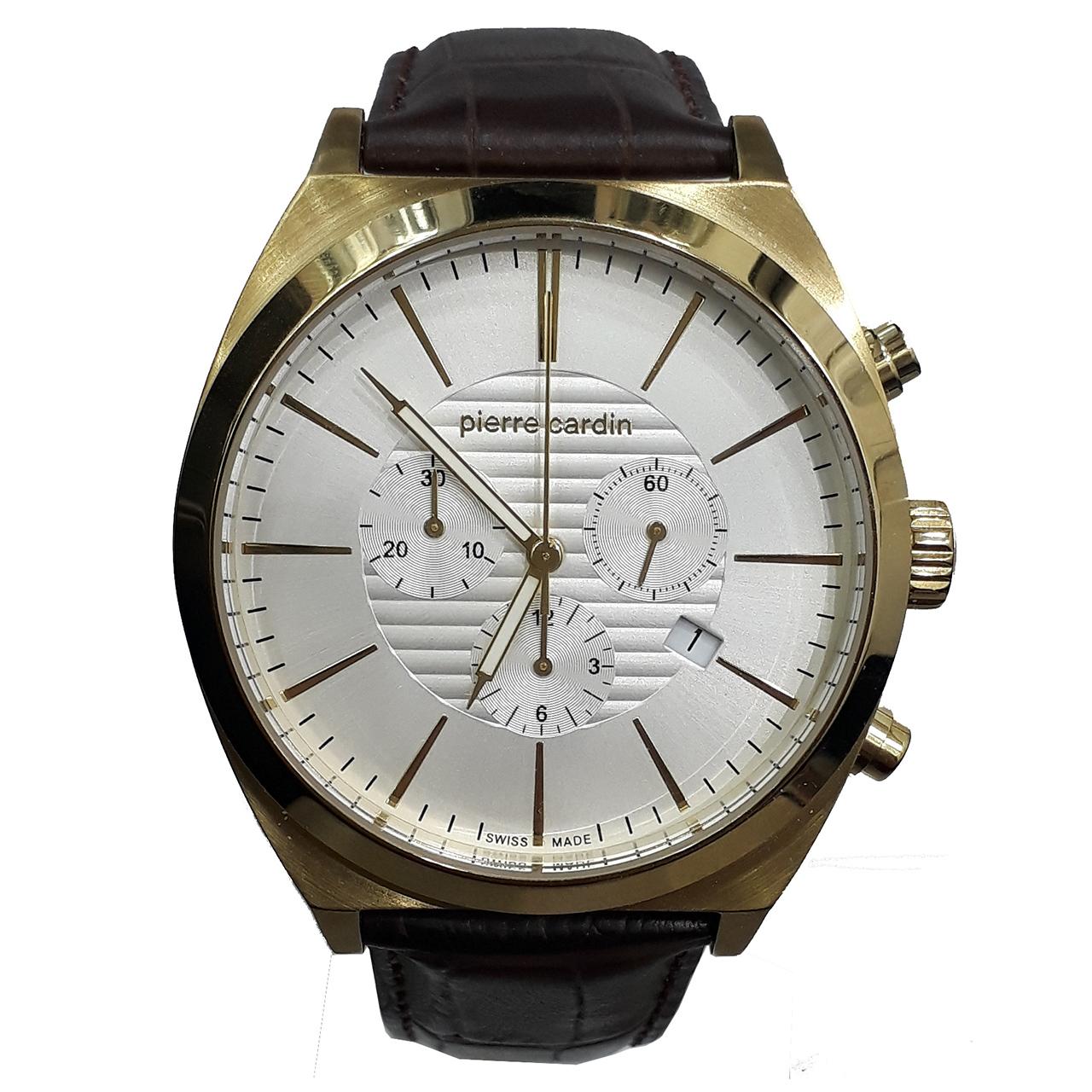 ساعت مچی عقربه ای مردانه پیر کاردین مدل PC107121S03