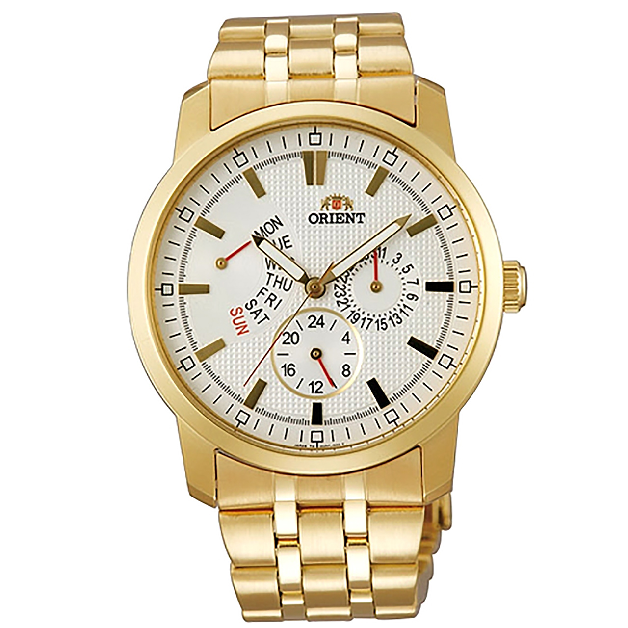 ساعت مچی عقربه ای مردانه اورینت مدل SUU07001W0 28