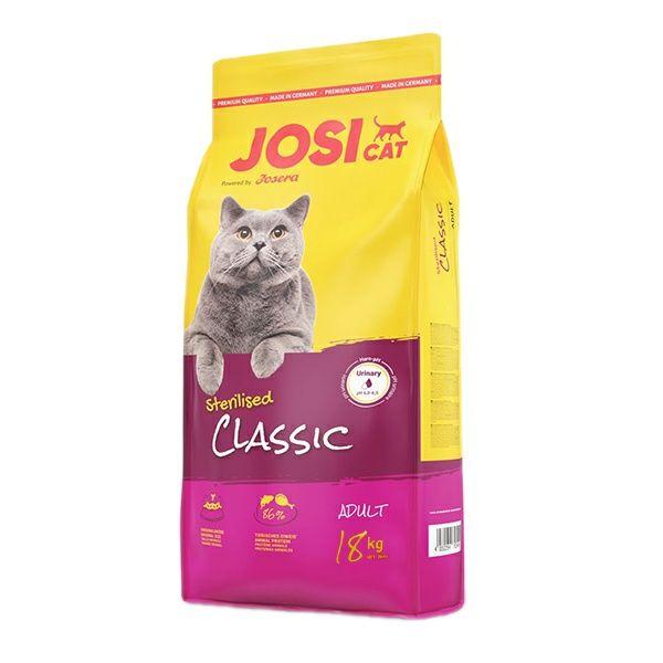غذا خشک گربه جوسرا مدل JOSICAT STERILISED CLASSIC وزن 18 کیلوگرم