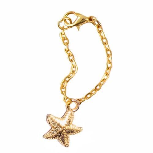 آویز ساعت استیل مدل ستاره دریایی