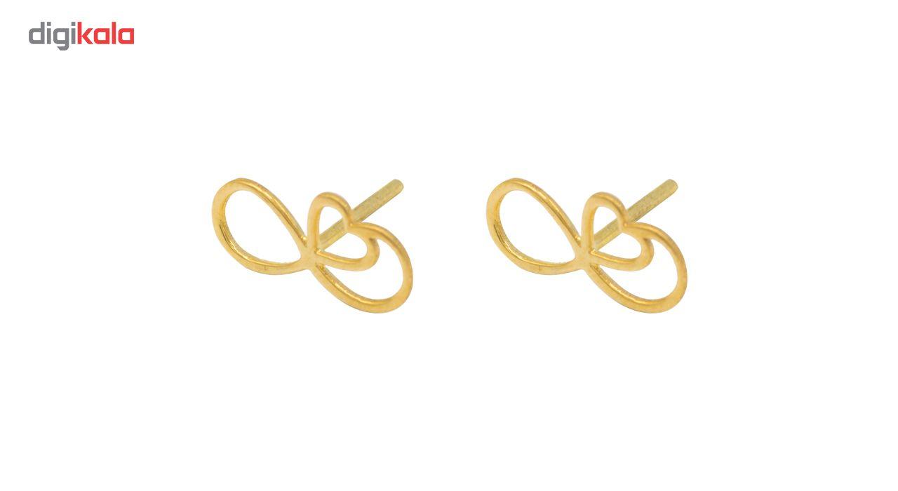 گوشواره طلا 18 عیار سپیده گالری کد SE0026