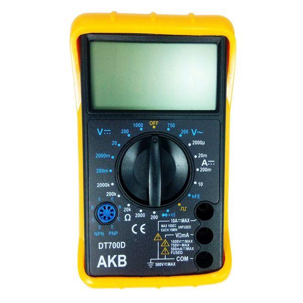 مولتی متر دیجیتال مدل DT700D |