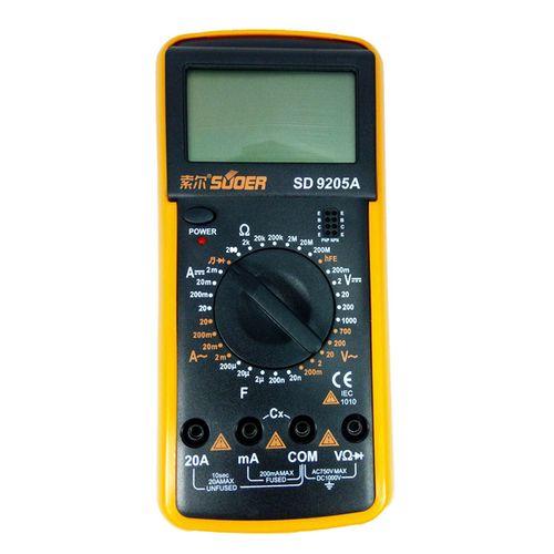 مولتی متر دیجیتال مدل SD9205A