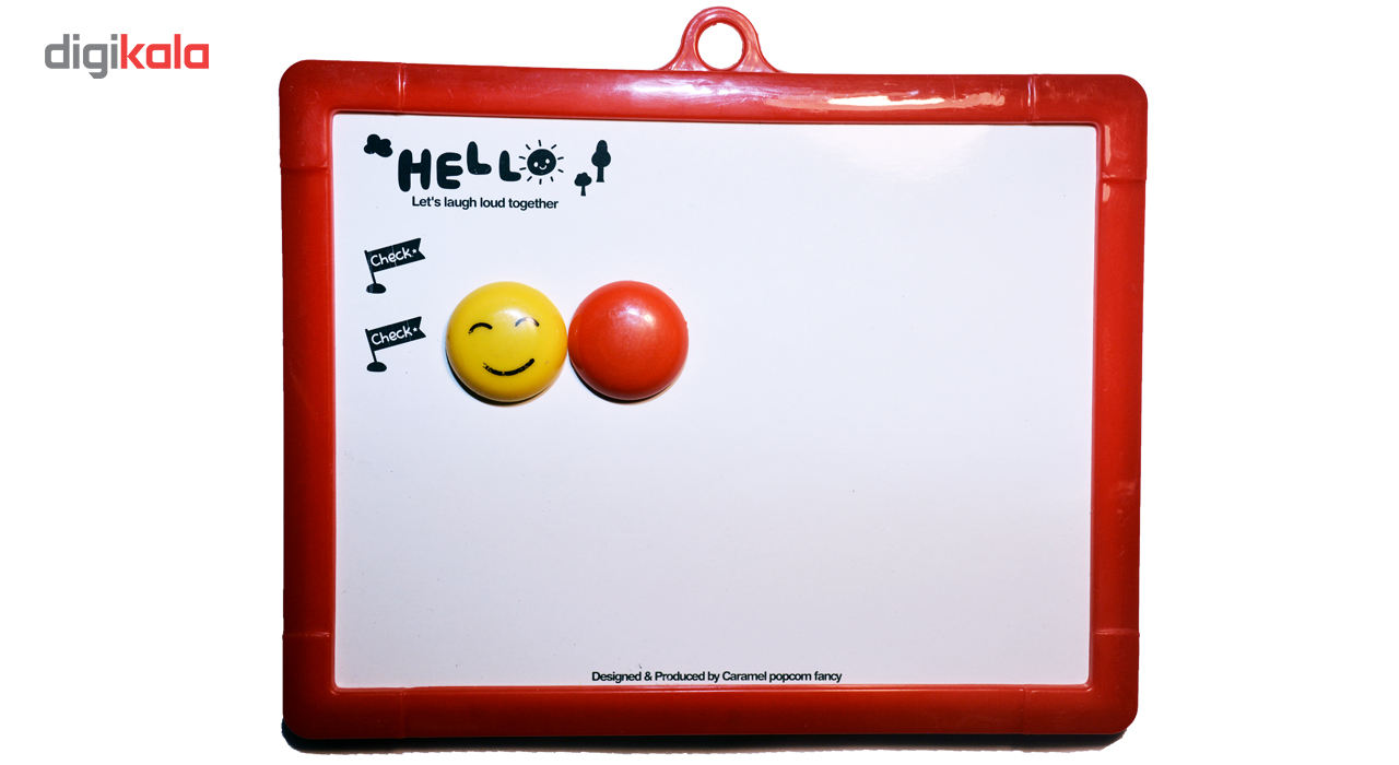 تخته سیاه و تخته وایت برد دوکاره مدل hell main 1 3