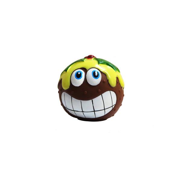 اسباب بازی سگ و گربه مدل توپ بازی آدمک شکلاتی