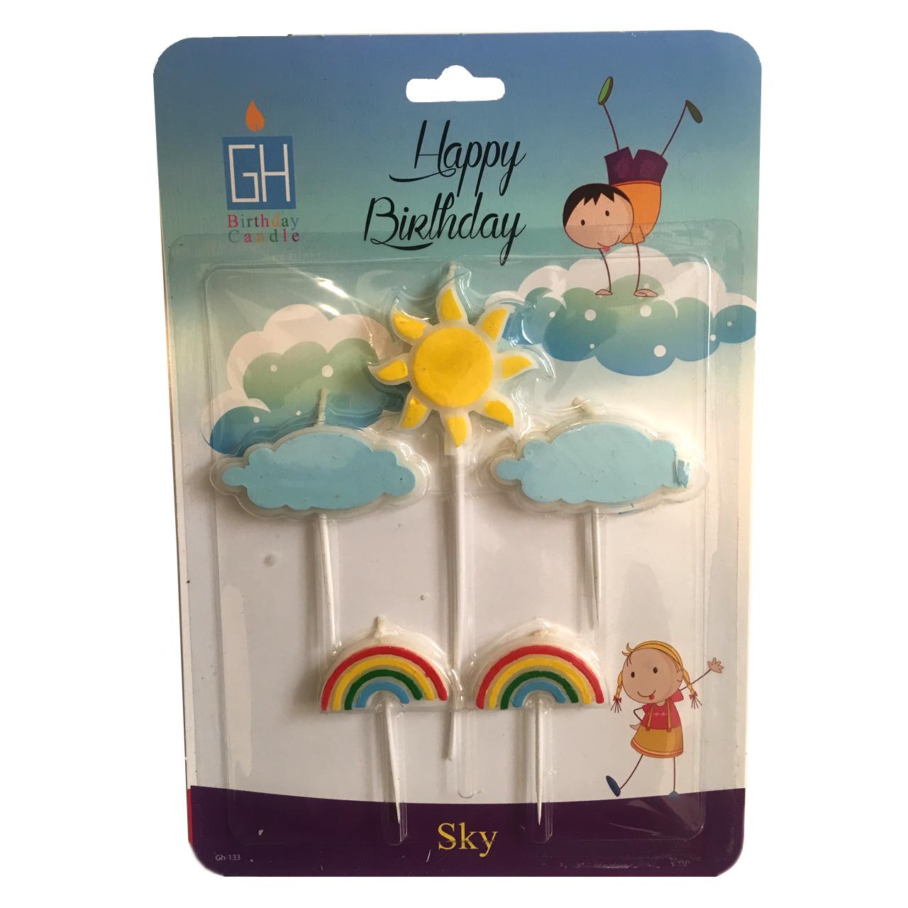 شمع تولد بانیبو مل Sky