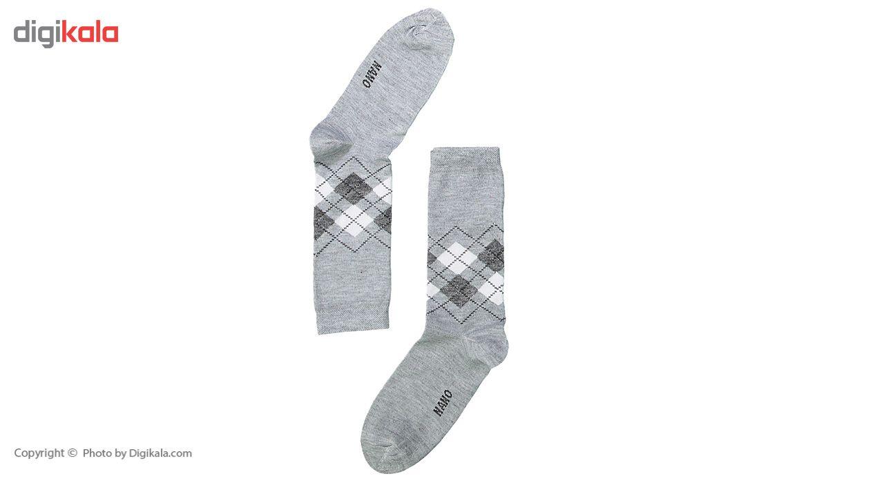 جوراب مردانه مدل عطری بسته 4 عددی main 1 2