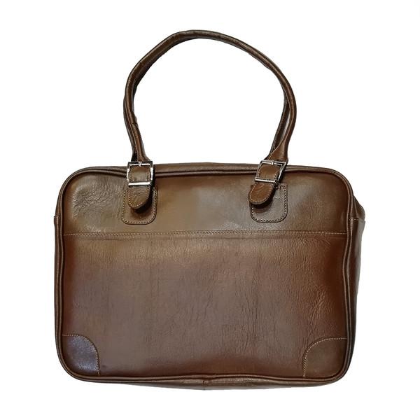 کیف دستی چرم طبیعی کمالی مدل AH-00019