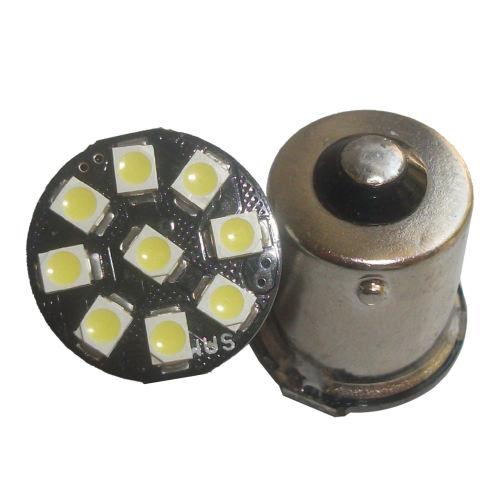 لامپ ال ای دی خودرو سام مدل 9LED بسته 2 عددی