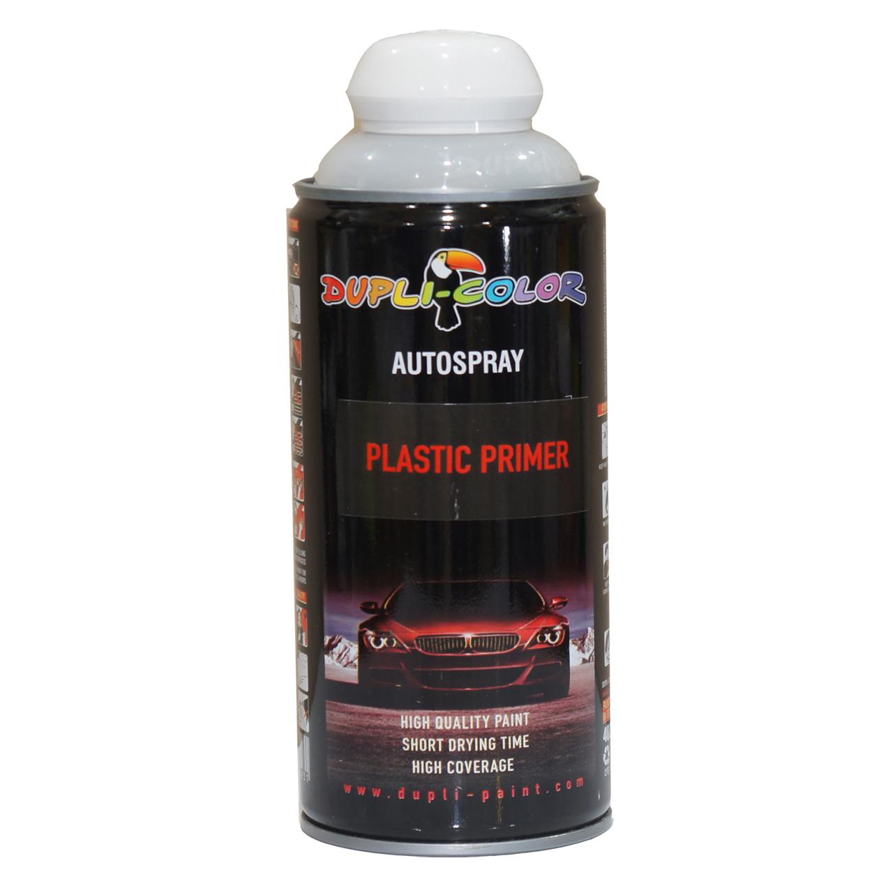 اسپری رنگ آستر پلاستیک دوپلی کالر مدل Plastic Primer حجم 400 میلی لیتری
