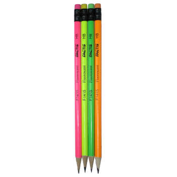 مداد مشکی فکتیس کد F1415 بسته 4 عددی