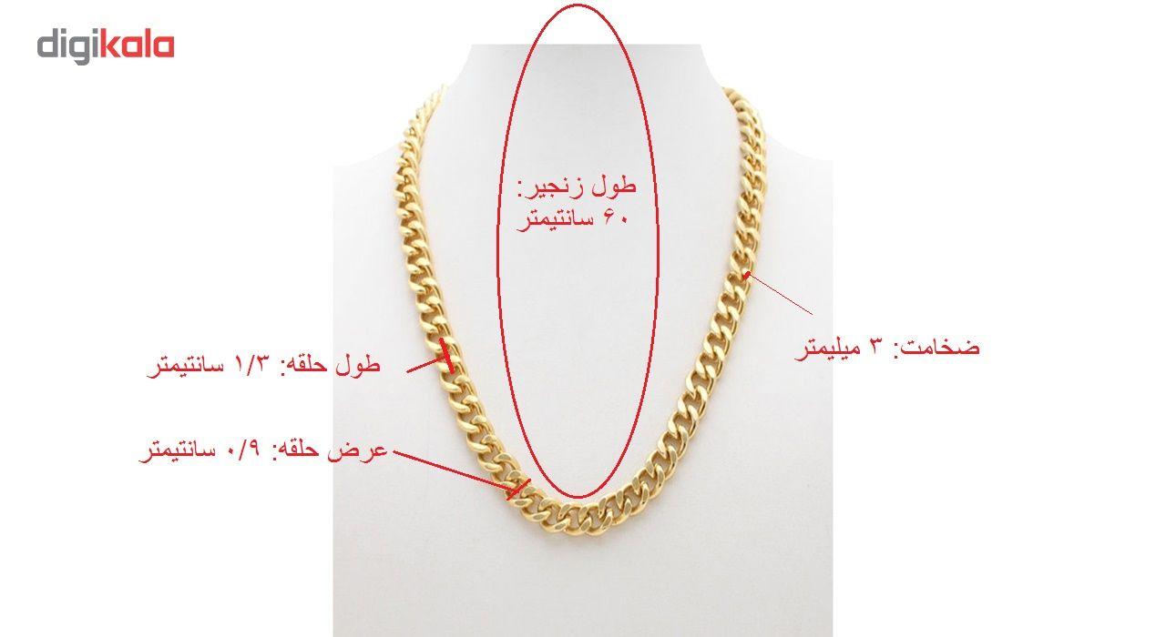 گردنبند مردانه سیزن بن کد N015 main 1 3