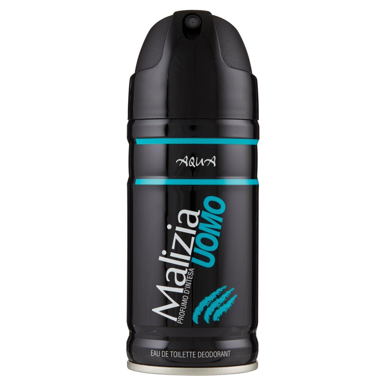 اسپری بدن مردانه مالیزیا مدل Aqua حجم 150 میلی لیتر