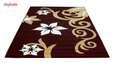 فرش ماشینی سهند کد C001.XO طرح فانتزی زمینه قهوه ای thumb 2