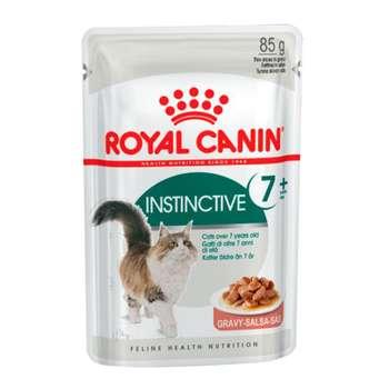 غذای پوچ گربه رویال کنین مدل instinctive 7 وزن 85 گرم