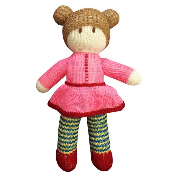 عروسک بافتنی مدل نازگلی کد 1021