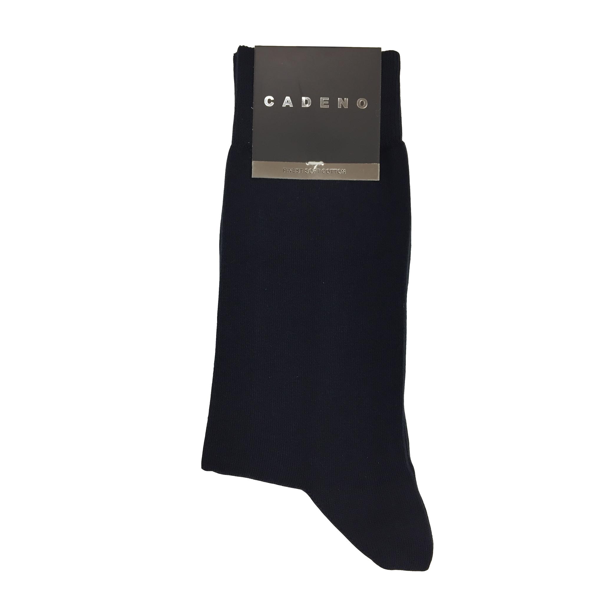 جوراب مردانه کادنو کد CA1001 رنگ سرمه ای