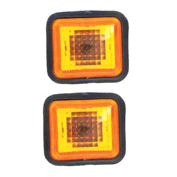 چراغ راهنما گلگیر شیک پارت مدل PG405ORNG بسته دو عددی