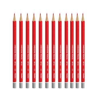 مداد قرمز پنتر مدل Checking Pencil Triangular کد BP111 - بسته 12 عددی