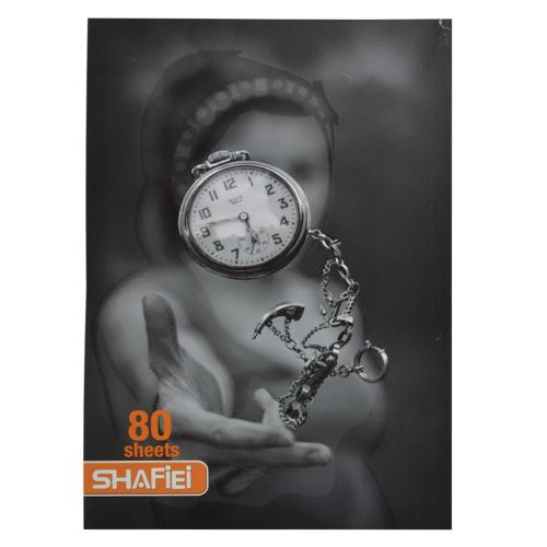 دفتر مشق 80 برگ شفیعی کد 50009