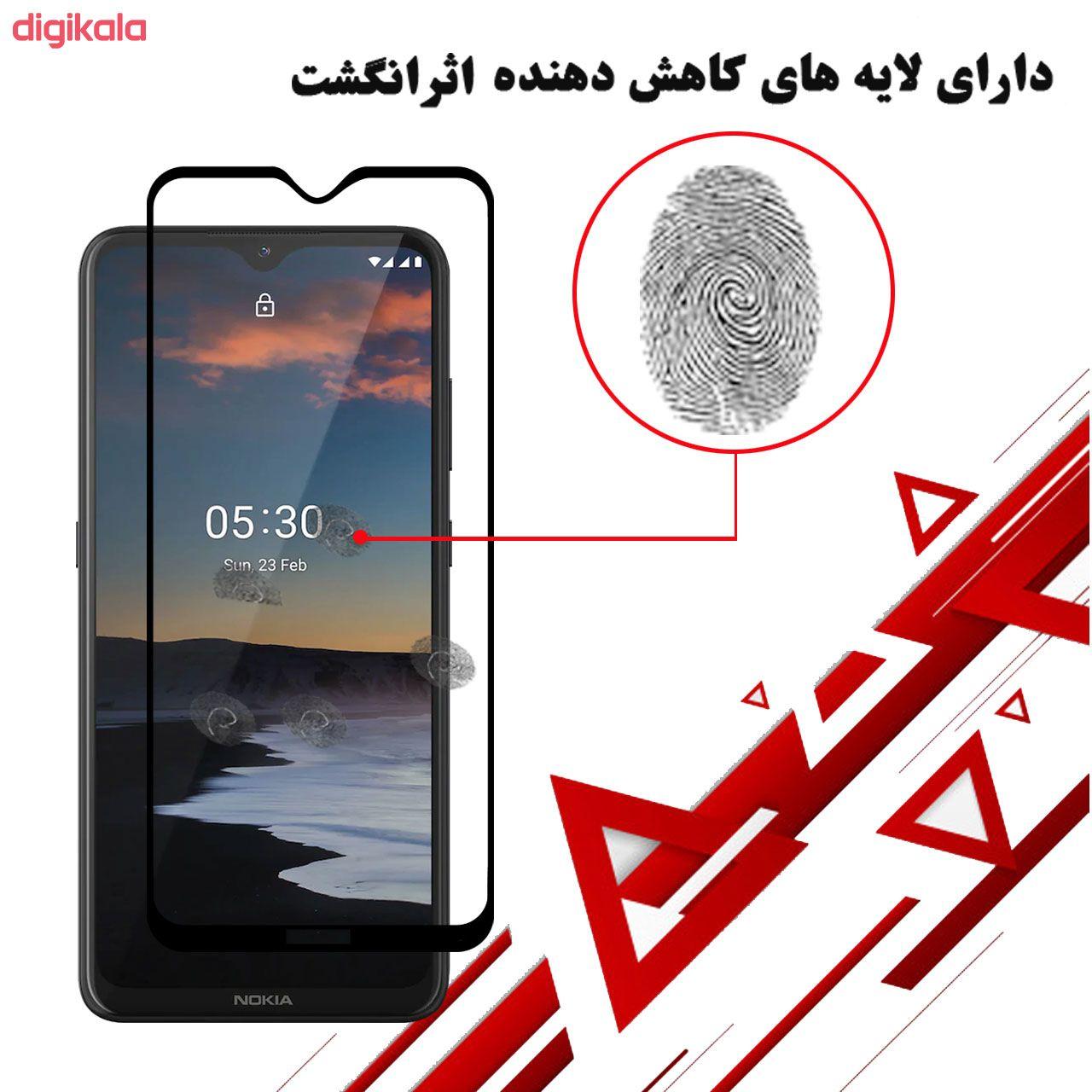 محافظ صفحه نمایش 5D هورس مدل FAG مناسب برای گوشی موبایل نوکیا 5.3 بسته سه عددی