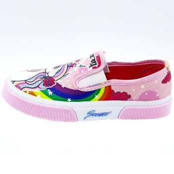 کفش دخترانه رشد طرح یونیکورن کد 131