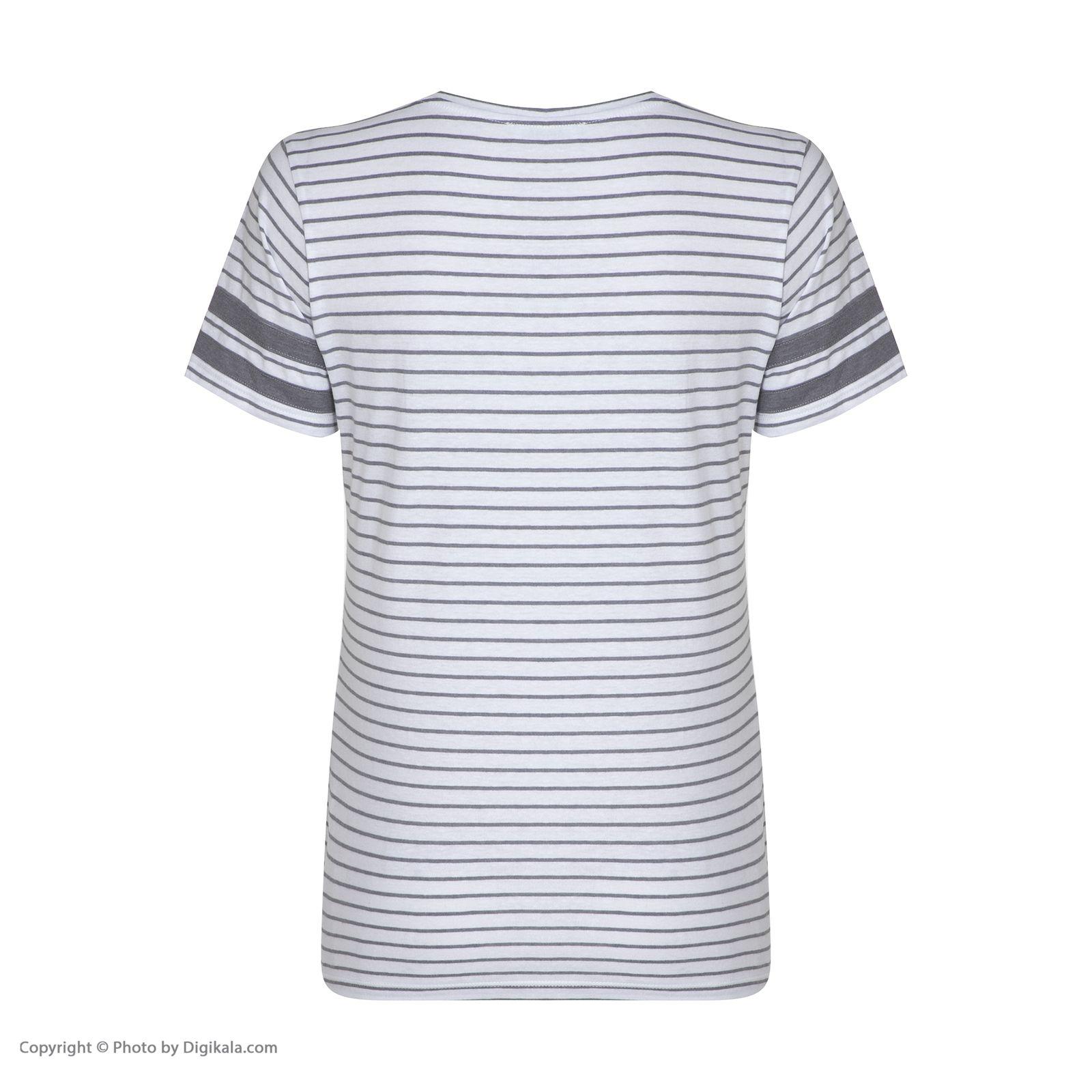 تی شرت زنانه کالینز مدل CL1032849-GREYMELANGE main 1 2
