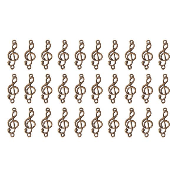 آویز دستبند نمدیکا طرح کلید سل بسته ۳۰ عددی