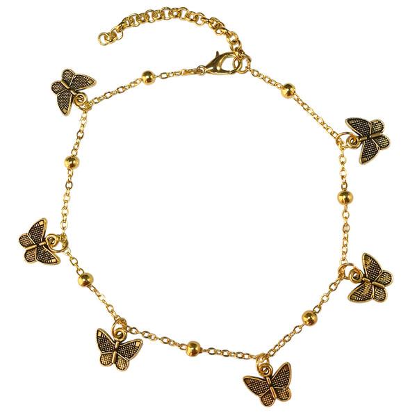 پابند زنانه مدل پروانه