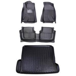 کفپوش سه بعدی خودرو مدل Am مناسب برای دنا پلاس به همراه کفپوش صندوق
