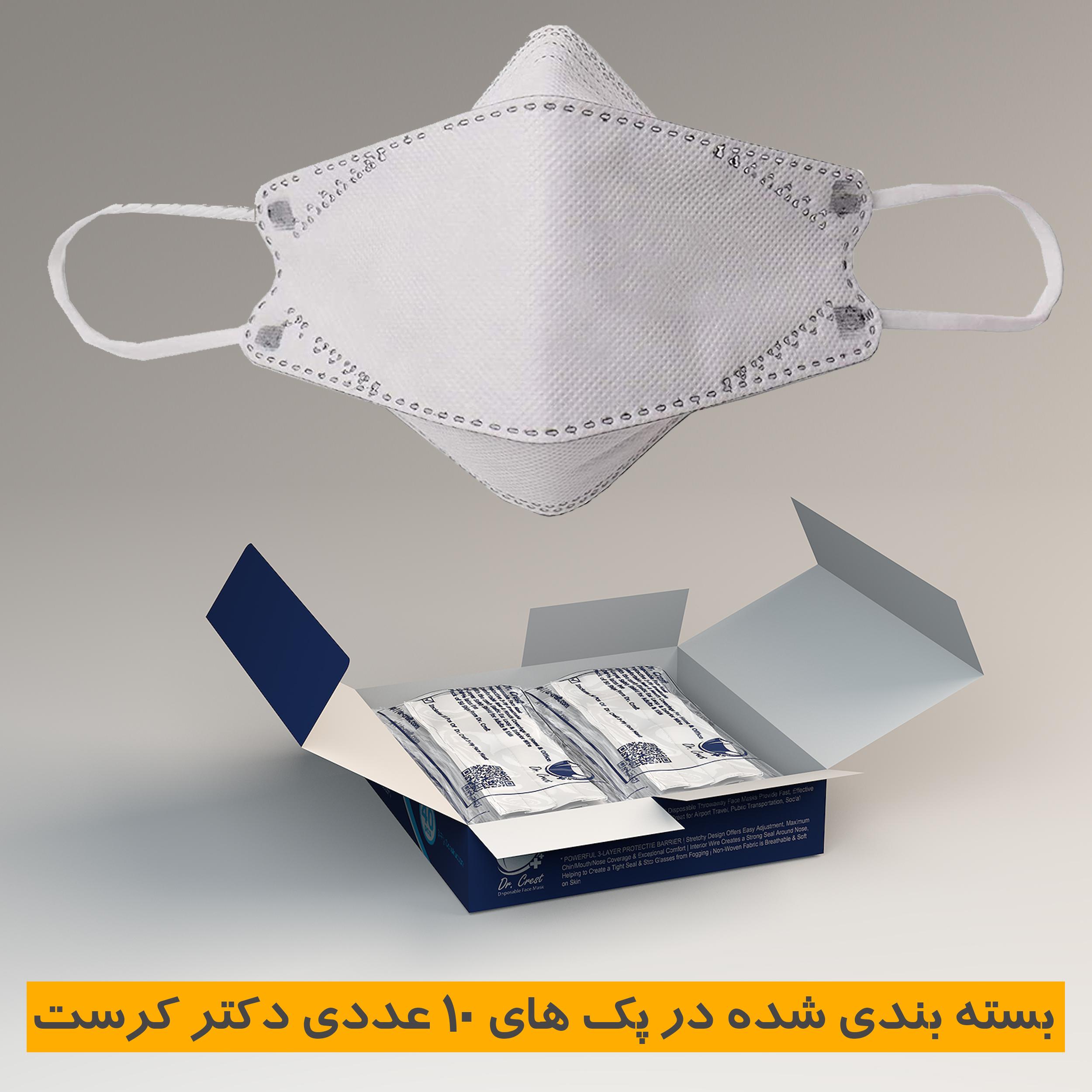 ماسک تنفسی دکتر کرست مدل Drc-3D-40
