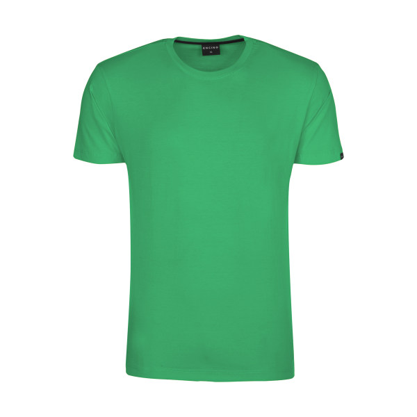 تیشرت آستین کوتاه مردانه ان سی نو مدل بیتر رنگ سبز کم رنگ
