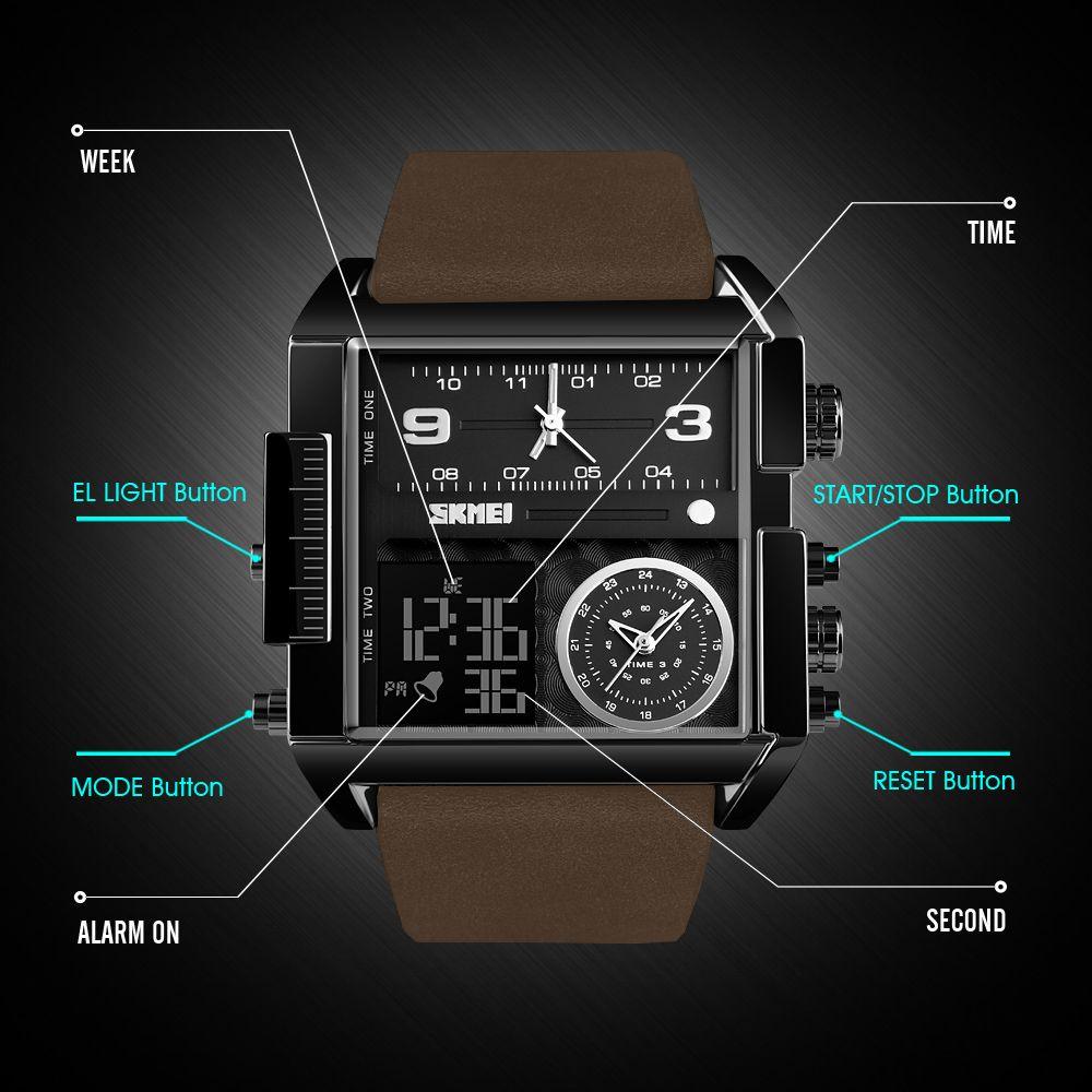ساعت مچی عقربه ای مردانه اسکمی مدل 1391GH-NP -  - 8