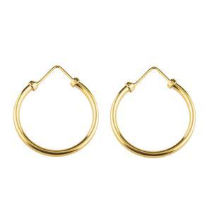 گوشواره طلا 18 عیار دخترانه رزالیا مدل Diamond-GEA-006