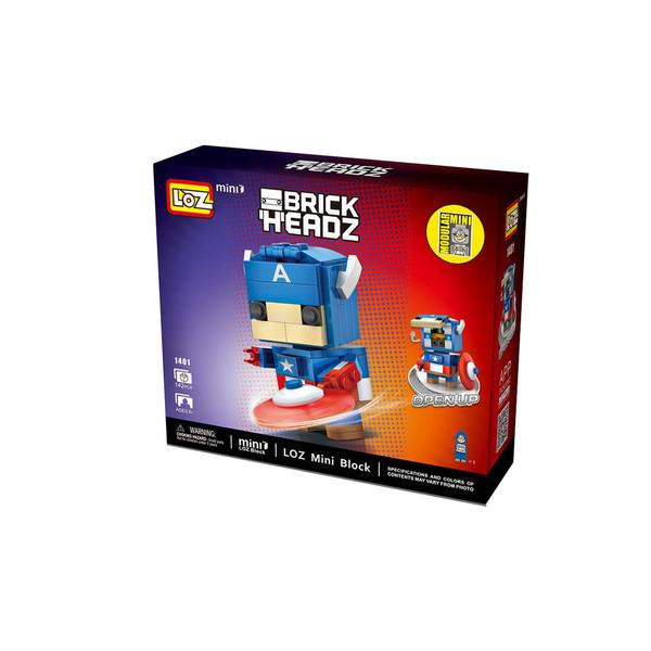 ساختنی لوز مدل Brick Headz کد 1401