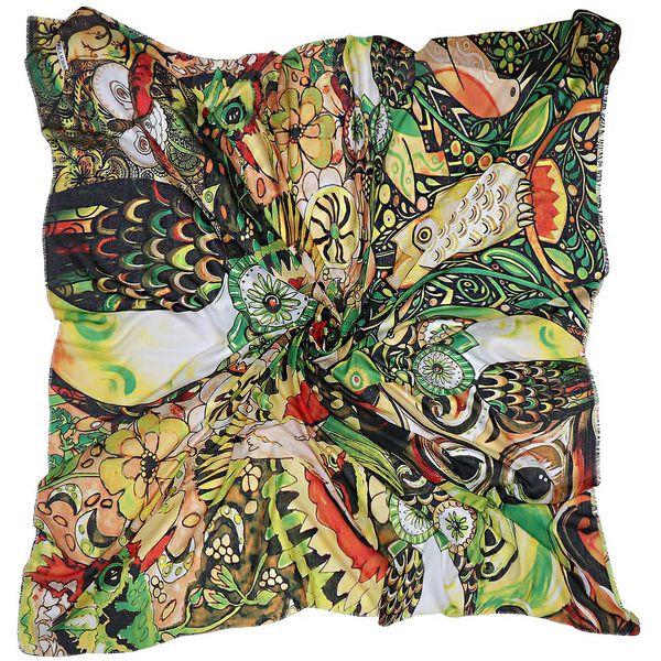 روسری زنانه طرح جغد کد 101013212 |