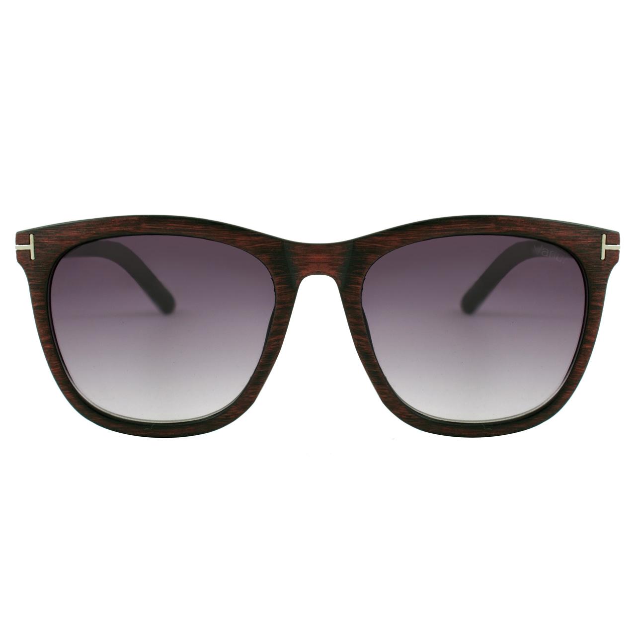 قیمت عینک آفتابی واریور مدل Tom Ford Brown Wood