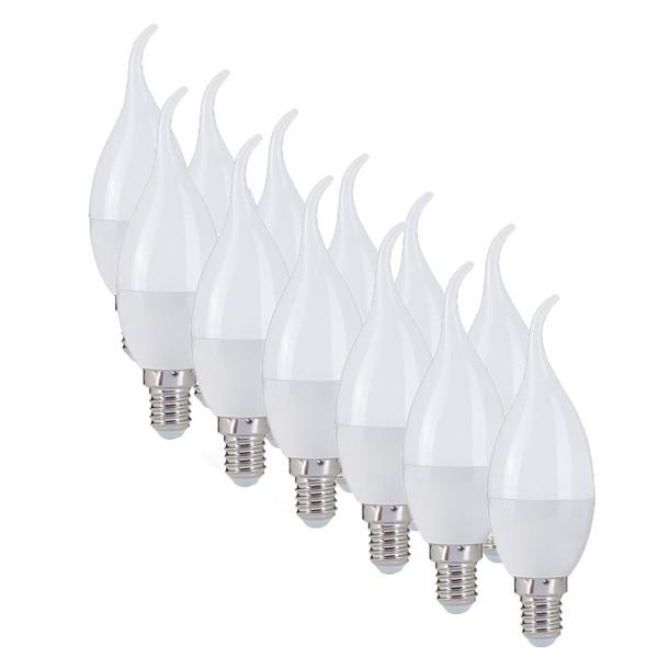 لامپ ال ای دی 6 وات مونلایت پایه E14 بسته 12 عددی