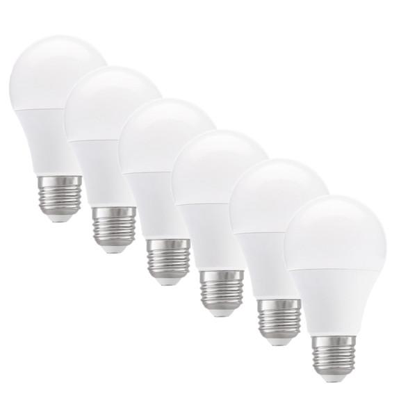 لامپ ال ای دی 9 وات مونلایت پایه E27 بسته 6 عددی