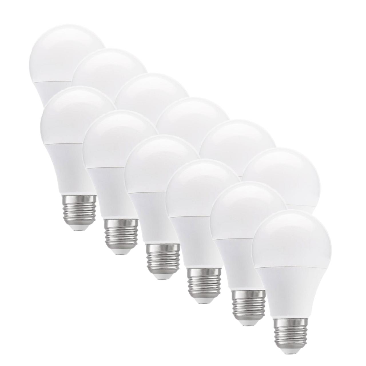 لامپ ال ای دی 9 وات مونلایت پایه E27 بسته 12 عددی