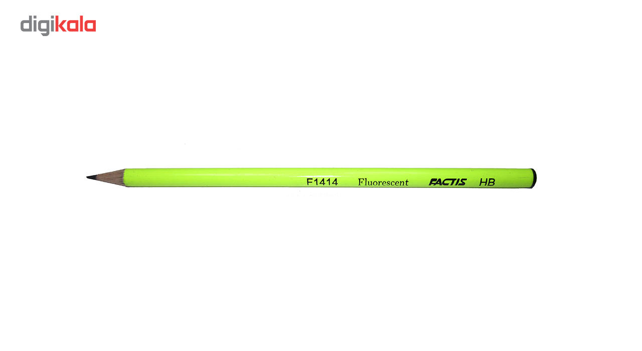 مداد مشکی فکتیس کد F1414 بسته 4 عددی main 1 1